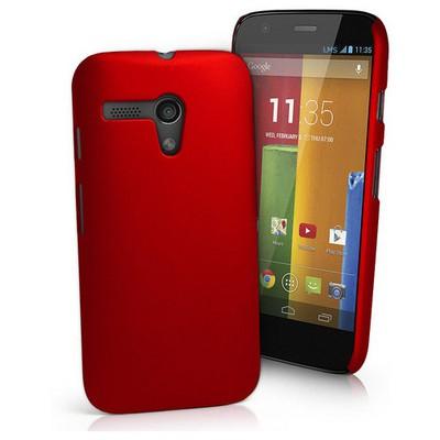 Microsonic Premium Slim Kılıf Motorola Moto G Kırmızı Cep Telefonu Kılıfı
