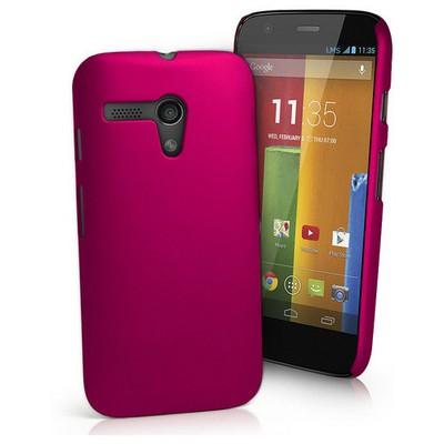 Microsonic Premium Slim Kılıf Motorola Moto G Pembe Cep Telefonu Kılıfı