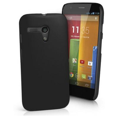 Microsonic Premium Slim Kılıf Motorola Moto G Siyah Cep Telefonu Kılıfı