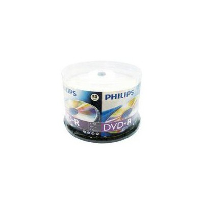 Philips Dvd-r 16x 120dk 4.7gb 50 Lı Cakebox CD/DVD