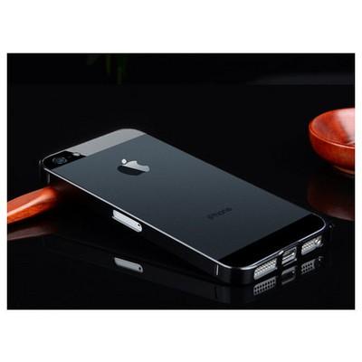 Microsonic Iphone 5 & 5s Ultra Thin Metal Bumper Kılıf Siyah Cep Telefonu Kılıfı