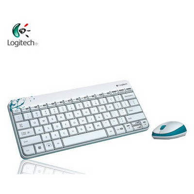 Logitech Mk240 Kablosuz Klavyeset Beyaz 920-005798 Klavye Mouse Seti