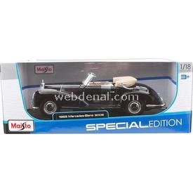 Maisto 1:18 1955 Mercedes-benz 300 S Model Araba Arabalar
