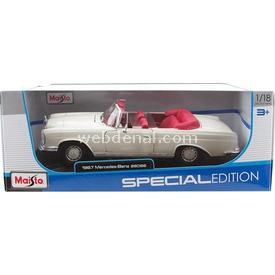 Maisto 1:18 1967 Mercedes-benz 280 Se Model Araba Arabalar