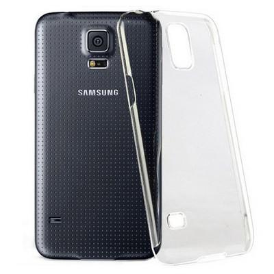 Microsonic Kristal Şeffaf Kılıf - Samsung Galaxy S5 Cep Telefonu Kılıfı