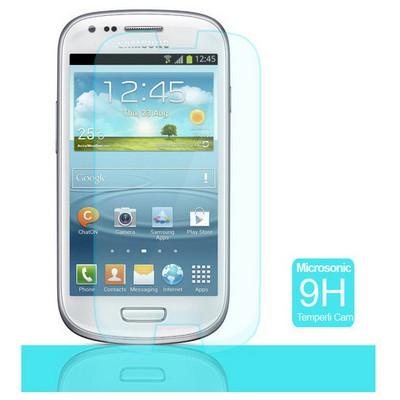 Microsonic Temperli Cam Ekran Koruyucu Samsung Galaxy S3 Mini I8190 Ekran Koruyucu Film