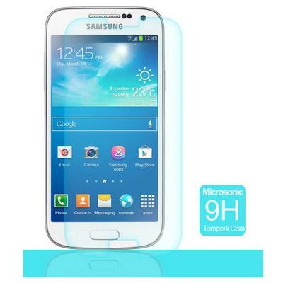 Microsonic Temperli Cam Ekran Koruyucu Samsung Galaxy S4 Mini I9190 Ekran Koruyucu Film