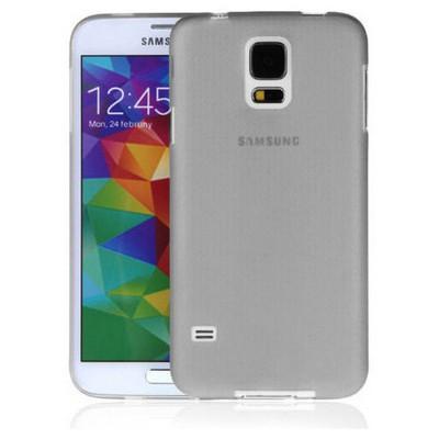 Microsonic Ultra Thin 0.2mm Kılıf Samsung Galaxy S5 Gri Cep Telefonu Kılıfı