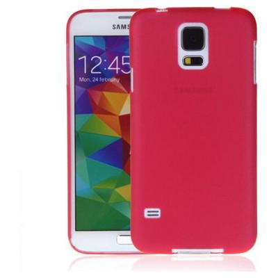 Microsonic Ultra Thin 0.2mm Kılıf Samsung Galaxy S5 Kırmızı Cep Telefonu Kılıfı