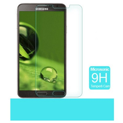Microsonic Temperli Cam Ekran Koruyucu Samsung Galaxy Note 3 Neo N7500 N7505 Ekran Koruyucu Film