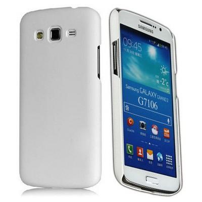 Microsonic Premium Slim Kılıf Samsung Galaxy Grand 2 G7102 G7105 G7106 Beyaz Cep Telefonu Kılıfı