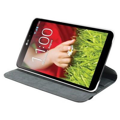 Microsonic 360 Rotating Stand Deri Kılıf Lg G Pad 8.3 V500 Beyaz Tablet Kılıfı