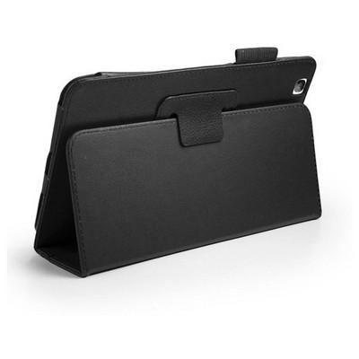 Microsonic Kickstand Deri Kılıf Lg G Pad 8.3 V500 - Siyah Tablet Kılıfı