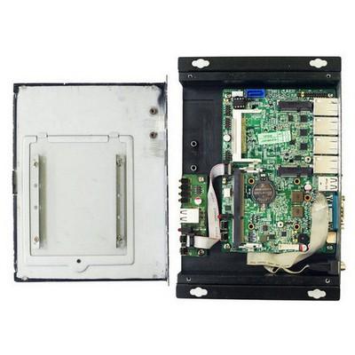Jetway F38W MiniPC Dual Atom D525 2 GB 32 GB SSD Mini PC