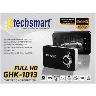 "Techsmart Ghk-1013 Araç Içi Kamera 2,4"" Ekran 720p Araç İçi Kamera"