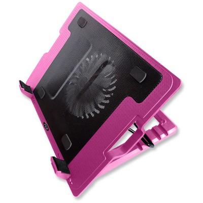Inca 341fxp Inc-341fxk Ergonomik Usb Sessiz Notebook Stand+soğutucu Pembe Notebook Soğutucu