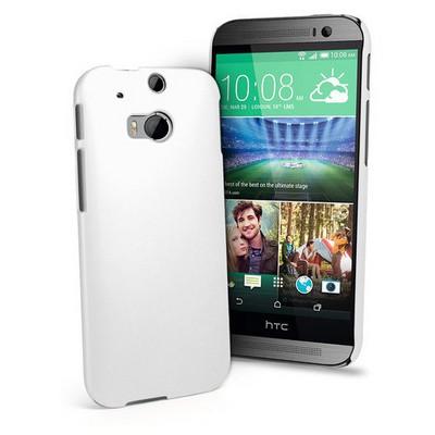 Microsonic Premium Slim Kılıf Htc One M8 Beyaz Cep Telefonu Kılıfı