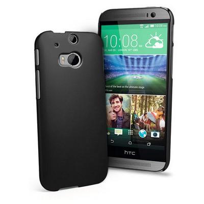 Microsonic Premium Slim Kılıf Htc One M8 Siyah Cep Telefonu Kılıfı
