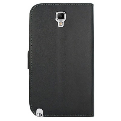 Microsonic Cüzdanlı Deri Kılıf - Samsung Galaxy Note 3 Neo Siyah Cep Telefonu Kılıfı