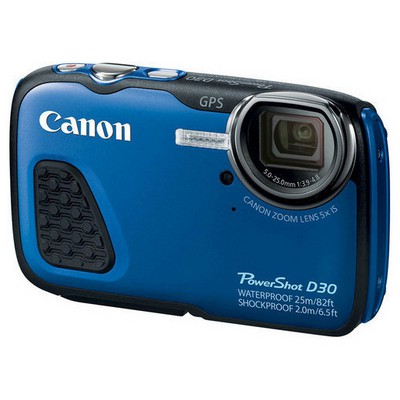 "Canon PowerShot D30 12.1 Mp 5x Optik 3.0"" Lcd Full Hd Gps Dijital Kompakt Fotoğraf Makinesi"
