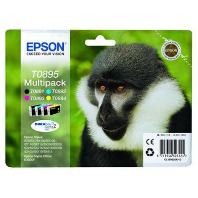 Epson T0895 Multi Renkli Kartuş