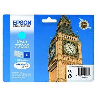 Epson T70324010 Mavi Kartuş