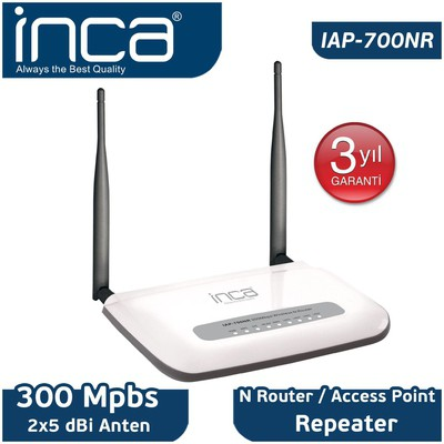 Inca 300Mbps Wireless N Router (IAP-700NR)