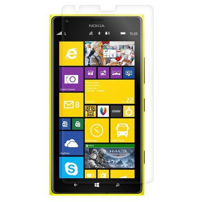 Microsonic Ultra Şeffaf  - Nokia Lumia 1520 Ekran Koruyucu Film