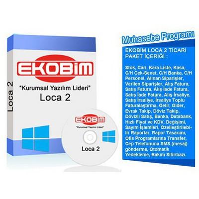 Ekobim Muhasebe Programı (loca 2) (eğitim Ve Kurulum Dahil) Ofis Yazılımı