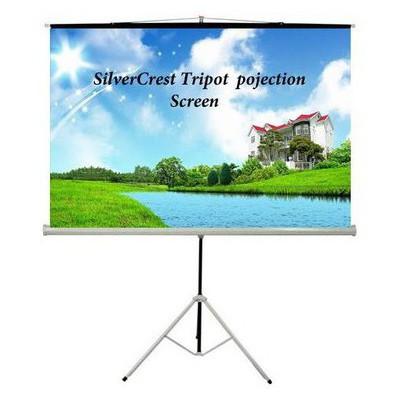 Silvercrest Sc-tp200 200x200 Sıyah Fon Ayak. Per Projeksiyon Aksesuarı