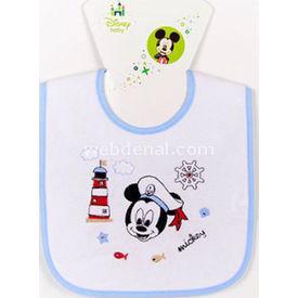 Ninna Nanna Disney Mickey Mama Önlüğü Düz Bebek Besleme