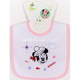 Ninna Nanna Disney Minnie Mama Önlüğü Düz Bebek Besleme