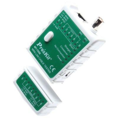 Proskit Mt-7058 Mini Lan Kablo Tester Network Kablosu
