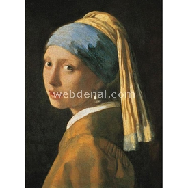 Clementoni 1000 Parça  Vermeer Girl With A Pearl Earr Puzzle