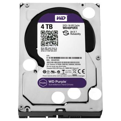 WD Purple 4TB Surveillance Disk (WD40PURX)