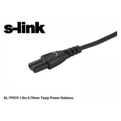 S-Link Sl-tp545, 1,5m, 0.75mm, Teyp Power Kablosu Güç Kablosu