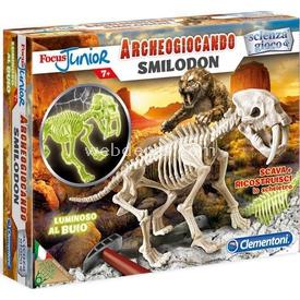 Clementoni Gece Parlayan Arkeolojik Kazı Seti Similodon Eğitici Oyuncaklar