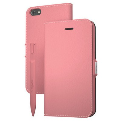Tegware Bagel iPhone 5s note pad lı kılıf - Pembe Cep Telefonu Kılıfı