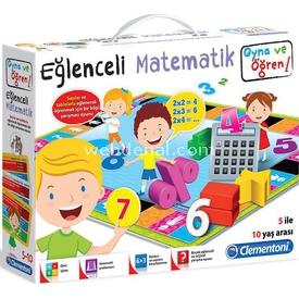 Clementoni Oyna Ve Öğren Eğlenceli Matematik Eğitici Oyuncaklar