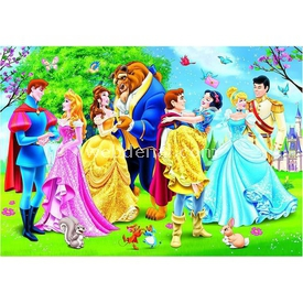 Clementoni Çocuk  Disney Prenses 2x20 Parça Puzzle