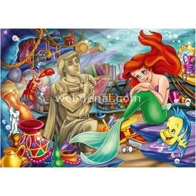Clementoni Çocuk  Deniz Kızı 3x48 Parça Puzzle