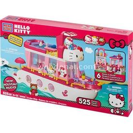 Mega Bloks Hello Kitty'nin Seyehat Gemisi Oyun Seti 10930 Lego Oyuncakları
