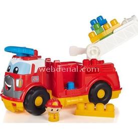 Mega Bloks Büyük Itfaiye Aracı Ve Bloklar Oyun Seti Arabalar