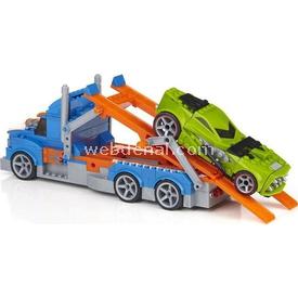 Mega Bloks Hot Wheels Blok Taşıyıcı Tır Ve Araç Oyun Seti Lego Oyuncakları