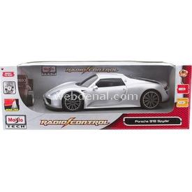 Maisto Tech Porsche 918 Spyder Uzaktan Kumandalı Araba 1:14 Gri Arabalar