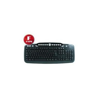 Hiper F-3075 Standart F  Usb Siyah Klavye