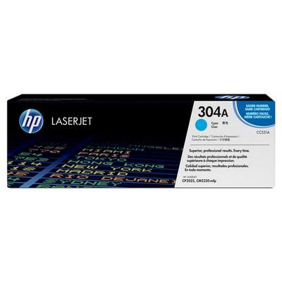 HP 304A CC531A Mavi Toner