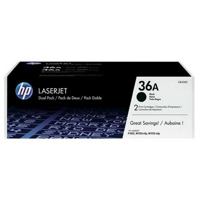 HP 36A Siyah CB436AD 2'li 2000 Sayfa Toner