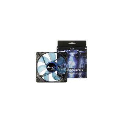 Aerocool Lightning 12cm Mavi Kasa Fanı (AE-CFLG120BL)
