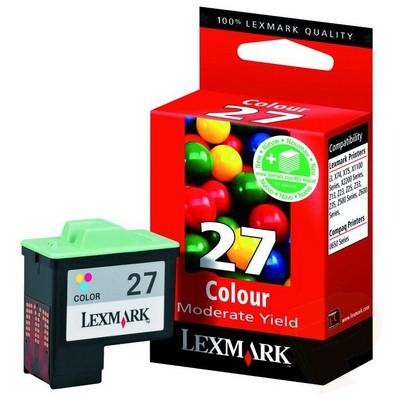 Lexmark 10NX227 27 Renkli Kartuş